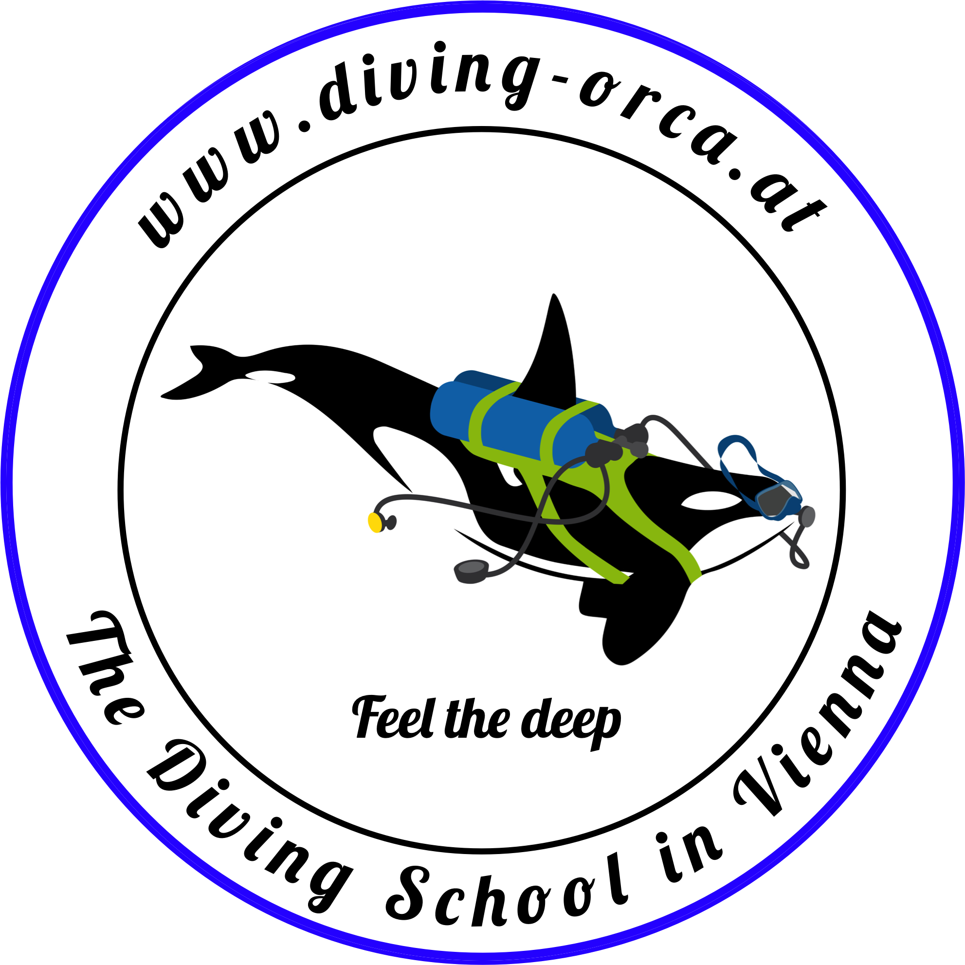 Diving Orca